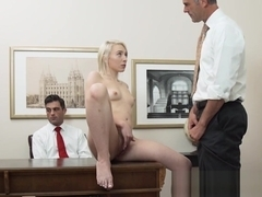 Blonde mormon gets cum