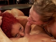Daisy Ducati Petitions to Serve the House and Anal Slut Zoey Monroe Gets Fucked in the Ass