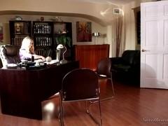 Lesbian Office Seductions #08, Scene #02
