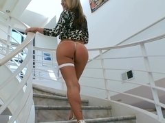 White woman with a perfect ass