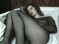 Russian milf Anna first nude video part 2 Play with vibrator