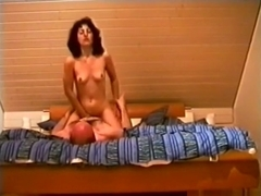 Mature woman has 69 and cowgirl sex with her husband