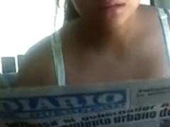 Spanish Babe Hidden Downblouse