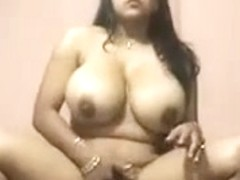 Dilettante movie scene Curvy Woman From India and BF