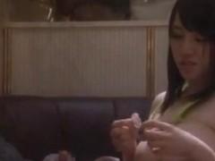 Azusa Nagasawa Japanese doll has crazy public sex