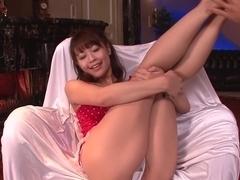 Fabulous Japanese slut Maika in Incredible JAV uncensored Dildos/Toys video