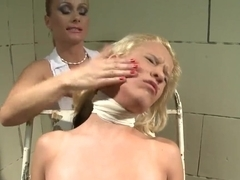 Gina D having a pain therapy from Katy Parker and her unique ways