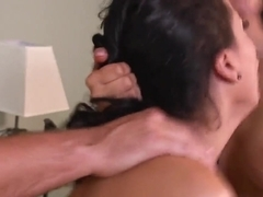 Isis Love gets the amazing blowjob from Keiran Lee and Luna Star