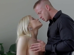 Sweet Cat teases her partner and make his eat out her sweet pussy