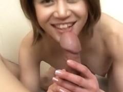 Best Japanese model in Incredible Uncensored, Blowjob/Fera JAV movie
