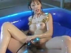 Crazy Japanese whore Mayumi Hatano, Aki Iwashita, Megu Shirosaki in Hottest Blowjob/Fera JAV clip