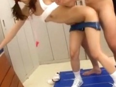 Horny Japanese chick in Best Doggy Style JAV movie