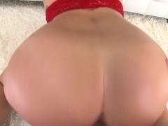 Hot Amateur Brunette With A Sweet Ass...