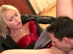 Best pornstar Kathia Nobili in exotic creampie, anal sex scene