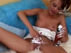 Exotic pornstar in best small tits, masturbation adult movie