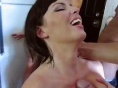 Horny pornstar in Crazy Threesomes, Big Tits porn movie