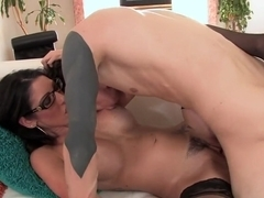 Amazing pornstar Jessie Rogers in fabulous cumshots, cunnilingus sex clip