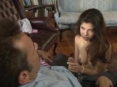 Horny pornstar Ava Taylor in amazing brazilian, college sex video