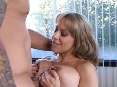 Best pornstars Alyssa Lynn, Derrick Pierce in Exotic Facial, Swallow porn movie