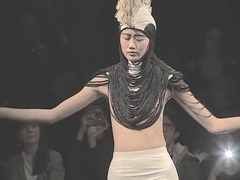Nude Fashion Charlie Le Mindu Metal Queen Spring Summer