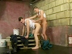 Hot twinks in wicked booty pounding action