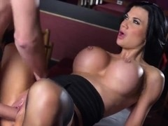 Danny D pounding so cute gal Jasmine Jae