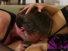 Fabulous pornstars Nina Elle, Eric Masterson in Best MILF, Stockings porn movie