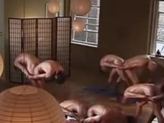 Erotic gay couples  yoga