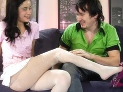 NylonFeetVideos Clip: Veronica and Rolf