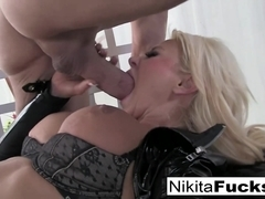 Nikita Von James in Busty Nikita Fucks A Big Cock - NikitaVonJames