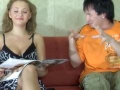 NylonScreen Movie: Alina and Rolf