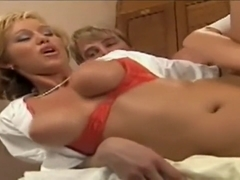 Slippery dutch blonde group sex
