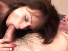Passionate Sophie Lynx has fun with fellow