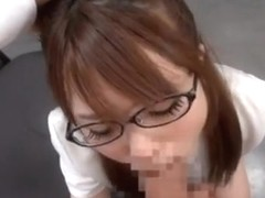 Naughty Office Fuck With Riona Minami In Glasses