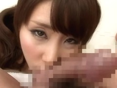 Best Japanese model in Horny Blowjob, Amateur JAV clip