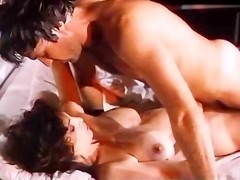 Kay Parker, Richard Pacheco in sex with a hot maid in a vintage xxx movie