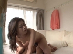 Uncensored JAV Maki Hojo big butt milf doggystyle perfection