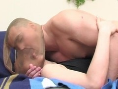 Hot tramp rides cock while in stockings