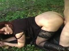 Junger Riesenschwanz fickt mich Outdoor