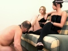 Russian-Mistress Video: Jasmin & Megan