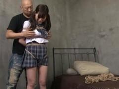 Rico Yamaguchi Japanese model in bondage