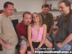 Tiny Tit Teen Gangbanged Hard With Cocks