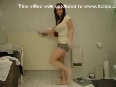 Astounding gazoo popping cam panty video