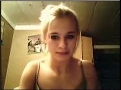 Cute webcam girl masturbating