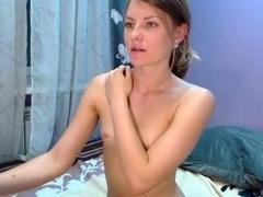Skinny Girl With Tiny Tits  Masturbation