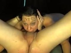 Deepthroat fucking tribute video