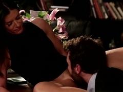 Incredible pornstars James Deen, India Summer in Hottest Cumshots, Big Tits sex scene