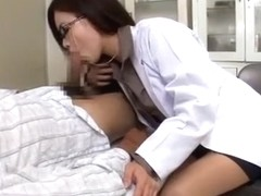 Amazing Japanese chick Kana Tsuruta in Fabulous Blowjob/Fera, Medical JAV movie