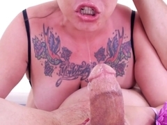 Horny pornstar Eden Alexander in Crazy Blowjob, POV xxx movie