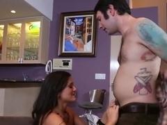 Crazy pornstar Maya Hills in incredible hardcore, small tits adult clip